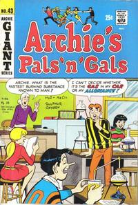 Cover Thumbnail for Archie's Pals 'n' Gals (Archie, 1952 series) #43