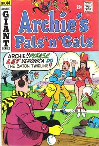 Cover Thumbnail for Archie's Pals 'n' Gals (Archie, 1952 series) #44