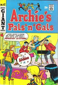 Cover Thumbnail for Archie's Pals 'n' Gals (Archie, 1952 series) #47