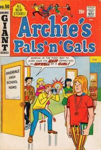 Cover Thumbnail for Archie's Pals 'n' Gals (Archie, 1952 series) #50