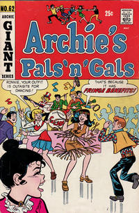 Cover Thumbnail for Archie's Pals 'n' Gals (Archie, 1952 series) #62