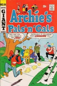 Cover Thumbnail for Archie's Pals 'n' Gals (Archie, 1952 series) #64