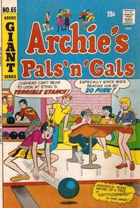 Cover Thumbnail for Archie's Pals 'n' Gals (Archie, 1952 series) #65
