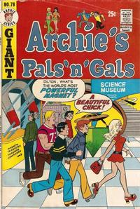 Cover Thumbnail for Archie's Pals 'n' Gals (Archie, 1952 series) #78