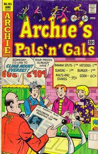 Cover Thumbnail for Archie's Pals 'n' Gals (Archie, 1952 series) #105