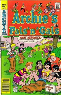 Cover Thumbnail for Archie's Pals 'n' Gals (Archie, 1952 series) #116