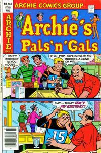 Cover Thumbnail for Archie's Pals 'n' Gals (Archie, 1952 series) #133