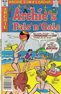 Cover Thumbnail for Archie's Pals 'n' Gals (Archie, 1952 series) #154