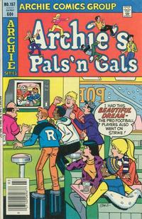 Cover Thumbnail for Archie's Pals 'n' Gals (Archie, 1952 series) #157