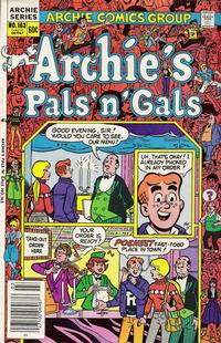 Cover Thumbnail for Archie's Pals 'n' Gals (Archie, 1952 series) #163