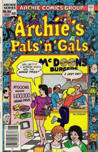 Cover Thumbnail for Archie's Pals 'n' Gals (Archie, 1952 series) #164