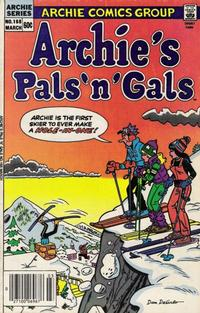 Cover Thumbnail for Archie's Pals 'n' Gals (Archie, 1952 series) #168