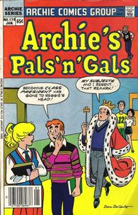 Cover Thumbnail for Archie's Pals 'n' Gals (Archie, 1952 series) #179