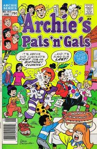 Cover Thumbnail for Archie's Pals 'n' Gals (Archie, 1952 series) #197 [Regular Edition]
