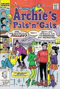 Cover Thumbnail for Archie's Pals 'n' Gals (Archie, 1952 series) #204 [Direct]