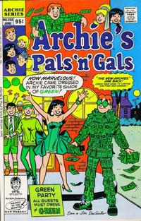 Cover Thumbnail for Archie's Pals 'n' Gals (Archie, 1952 series) #206 [Direct]