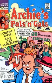 Cover Thumbnail for Archie's Pals 'n' Gals (Archie, 1952 series) #215 [Direct]