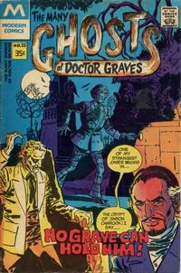 Cover Thumbnail for The Many Ghosts of Dr. Graves (Modern [1970s], 1978 series) #25