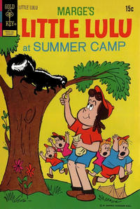 Cover Thumbnail for Marge's Little Lulu (Western, 1962 series) #206 [Gold Key]