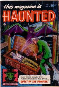 Cover Thumbnail for This Magazine Is Haunted (Fawcett, 1951 series) #3