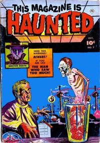 Cover Thumbnail for This Magazine Is Haunted (Fawcett, 1951 series) #7