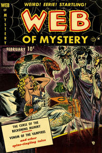 Cover Thumbnail for Web of Mystery (Ace Magazines, 1951 series) #1