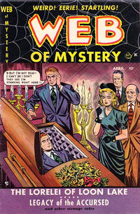 Cover Thumbnail for Web of Mystery (Ace Magazines, 1951 series) #2
