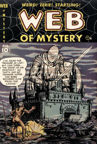 Cover Thumbnail for Web of Mystery (Ace Magazines, 1951 series) #4