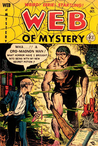 Cover Thumbnail for Web of Mystery (Ace Magazines, 1951 series) #5