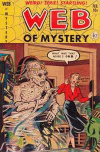 Cover Thumbnail for Web of Mystery (Ace Magazines, 1951 series) #7
