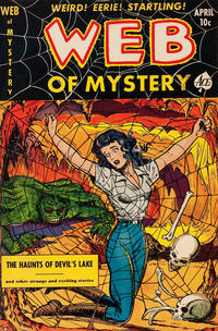 Cover Thumbnail for Web of Mystery (Ace Magazines, 1951 series) #8