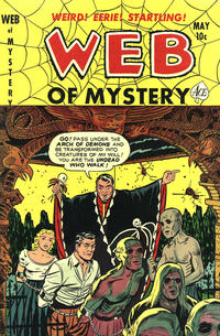 Cover Thumbnail for Web of Mystery (Ace Magazines, 1951 series) #9