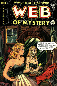 Cover Thumbnail for Web of Mystery (Ace Magazines, 1951 series) #10