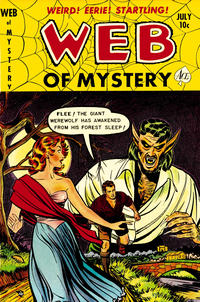 Cover Thumbnail for Web of Mystery (Ace Magazines, 1951 series) #11