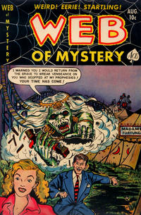 Cover Thumbnail for Web of Mystery (Ace Magazines, 1951 series) #12