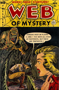 Cover Thumbnail for Web of Mystery (Ace Magazines, 1951 series) #15