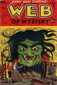 Cover Thumbnail for Web of Mystery (Ace Magazines, 1951 series) #17