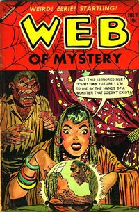 Cover Thumbnail for Web of Mystery (Ace Magazines, 1951 series) #19