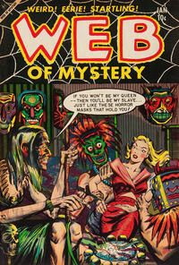 Cover Thumbnail for Web of Mystery (Ace Magazines, 1951 series) #22