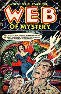 Cover Thumbnail for Web of Mystery (Ace Magazines, 1951 series) #24