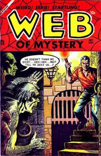 Cover Thumbnail for Web of Mystery (Ace Magazines, 1951 series) #25