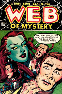 Cover Thumbnail for Web of Mystery (Ace Magazines, 1951 series) #26