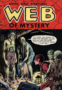 Cover Thumbnail for Web of Mystery (Ace Magazines, 1951 series) #27