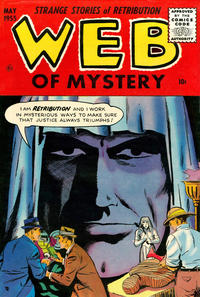 Cover Thumbnail for Web of Mystery (Ace Magazines, 1951 series) #28