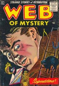 Cover Thumbnail for Web of Mystery (Ace Magazines, 1951 series) #29