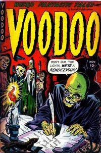 Cover Thumbnail for Voodoo (Farrell, 1952 series) #4