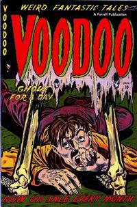 Cover Thumbnail for Voodoo (Farrell, 1952 series) #5