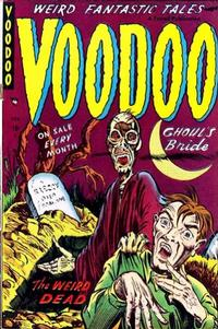 Cover Thumbnail for Voodoo (Farrell, 1952 series) #6