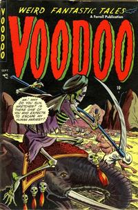 Cover Thumbnail for Voodoo (Farrell, 1952 series) #11
