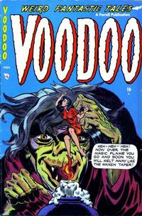 Cover Thumbnail for Voodoo (Farrell, 1952 series) #12